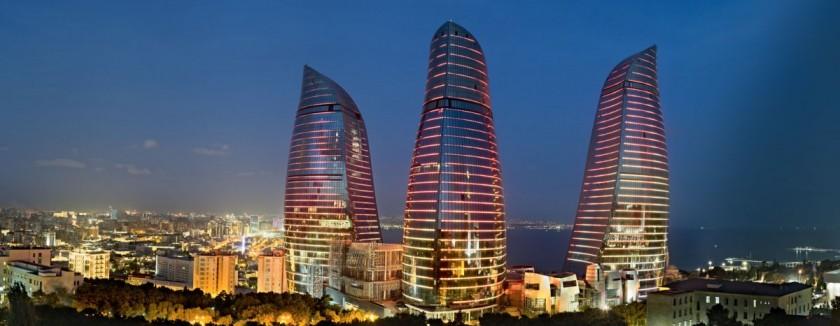 Flame Towers, Baku/Azerbaijan