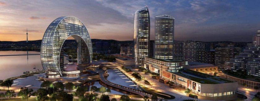 Eurodesign's The Crescent Development, Baku /Azerbaijan